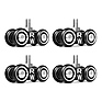 Camera Slider Dolly RigWheels (4-Pack)