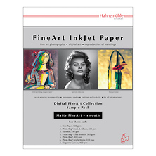 Matte Fine Art Smooth Archival Inkjet Paper Sample Pack (8.5 x 11 inch., 14 Sheets) Image 0