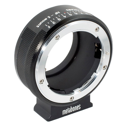 Nikon G Lens to Sony NEX Camera Lens Mount Adapter (Black) Image 0