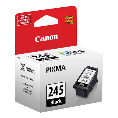 PG-245 Black Ink Cartridge for the PIXMA MG2420 and MG2520 Printers Image 0