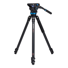 S8 Pro Video Head and 3 AL Tripod Kit Image 0