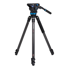 S8 Pro Video Head and Series 3 CF Tripod Kit Image 0
