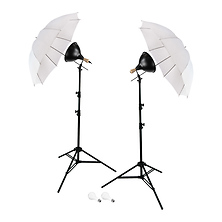2-Light Umbrellas Portrait Kit Image 0