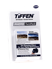 49mm Photo Twin Pack (UV Protection and Circular Polarizing Filter) Image 0