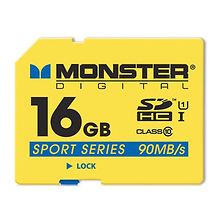 16GB Sport Series SDHC Full Size SD Memory Card Image 0
