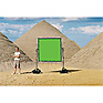 Chroma-key Green Screen for Sun-Scrim (6x6ft.)