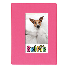 Selfie Photo Album for Instax Photos - Small (Pink) Image 0