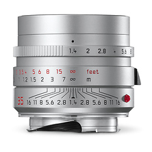 35mm f/1.4 Summilux-M Aspherical Lens (Silver) Image 0