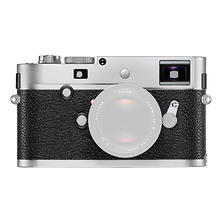 M-P Digital Rangefinder Camera Body (Silver) Image 0