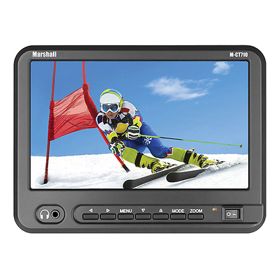 7 In. Portable Camera-Top High Resolution Monitor Canon Kit Image 0