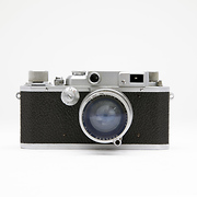 IIB RF 35mm Rangefinder Film Camera with 50mm f1.9 Lens - Used