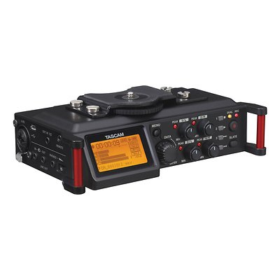 DR-70D 4-Channel Audio Recording Device for DSLR and Video Cameras Image 0