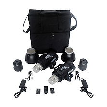 Baja B4 Battery Powered 2-Monolight Kit with Case Image 0
