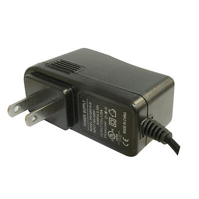 12VDC 1.5 Amp Regulated AC To DC Adapter Image 0