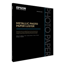 17 x 22 In. Metallic Photo Paper Luster (25 Sheets) Image 0
