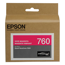 T760 Vivid Magenta Ultrachrome HD Ink Cartridge Image 0