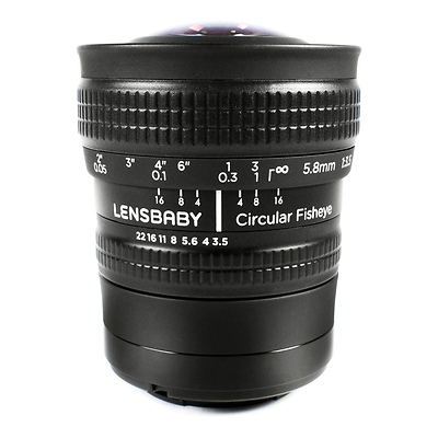 5.8mm f/3.5 Circular Fisheye Lens for Sony E Image 0
