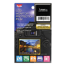 LCD Screen Protection Film for the Nikon D4 / D4s Camera Image 0