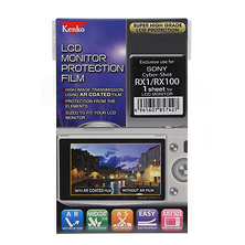 LCD Screen Protection Film for the Sony RX-1 & RX-100 Camera Image 0