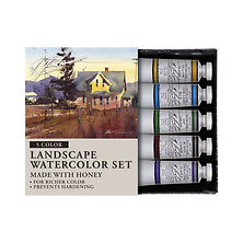 Landscape 0.5 oz Artists Watercolor 5 Color Set Image 0