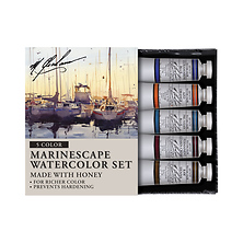 Marinescape 0.5 oz Artists Watercolor 5 Color Set Image 0