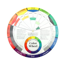9-1/4 In. Artist Color Wheel Image 0
