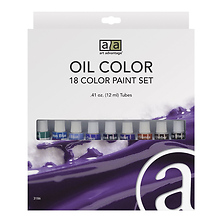 18 Color Oil Paint Set (12 ml) Image 0
