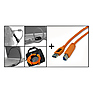 Starter Tethering Kit with Orange USB 3.0 SuperSpeed A to B 15'