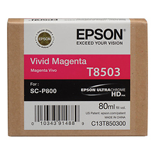 T850 UltraChrome HD Vivid Magenta Ink Cartridge (80 ml) Image 0