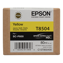 T850 UltraChrome HD Yellow Ink Cartridge (80 ml) Image 0