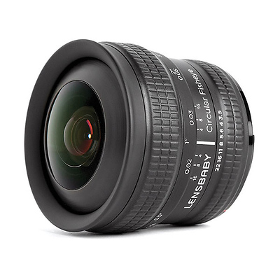 5.8mm f/3.5 Circular Fisheye Lens for Fujifilm X Image 0