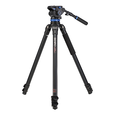 S7 Video Tripod Kit with A373F Aluminum Legs Image 0