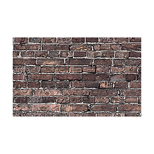 53 in. x 18 ft. Printed Background Paper (Grunge Brick) Image 0