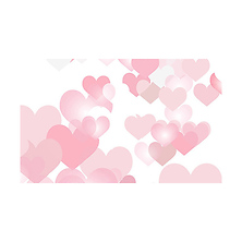 53 in. x 18 ft. Printed Background Paper (Love Burst) Image 0