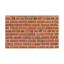 53 in. x 18 ft. Printed Background Paper (Red Brick) Image 0