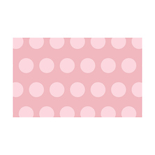 53 in. x 18 ft. Printed Background Paper (Rosy Polka Dots) Image 0