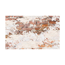 53 in. x 18 ft. Printed Background Paper (Weathered Brick) Image 0