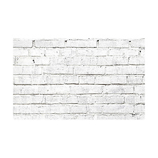 53 in. x 18 ft. Printed Background Paper (White Brick) Image 0