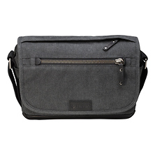 Cooper Luxury Canvas 8 Camera Bag with Leather Accents (Gray) Image 0