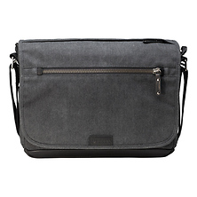 Cooper Luxury Canvas 13 Slim Camera Bag with Leather Accents (Gray) Image 0