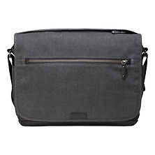 Cooper Luxury Canvas 15 Camera Bag with Leather Accents (Gray) Image 0