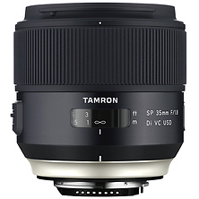 SP 35mm f/1.8 Di VC USD Lens for Canon EF Image 0
