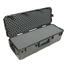 Injection Molded Waterproof Case with Wheels and Layered Foam Image 0