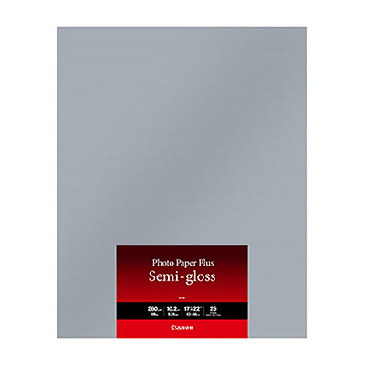 17 x 22 In. SG-201 Photo Paper Plus Semi-Gloss (25 Sheets) Image 0