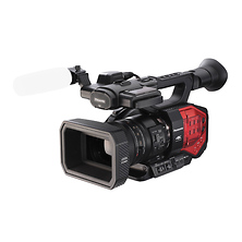 4K Handheld Camcorder with Four Thirds Sensor and Integrated Zoom Lens Image 0