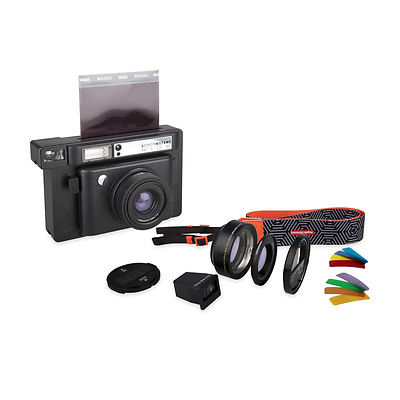 Lomo'Instant Wide Combo Kit (Black) Image 0