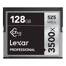 128GB Professional 3500x CFast 2.0 Memory Card Image 0
