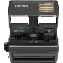 Polaroid 600 Square Instant Camera (Black) Image 0