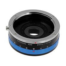 Canon EF Pro Lens Adapter with Built-In Iris Control for Fujifilm X-Mount Cameras Image 0