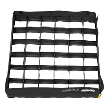 50 Degree Collapsible Fabric Egg Crate Grid Image 0